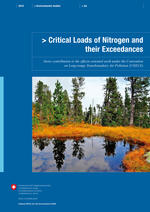 Critical Loads Of Nitrogen And Their Exceedances 1